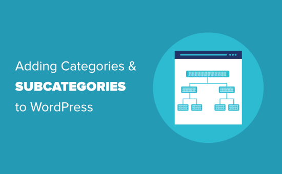Adding categories and subcategories to WordPress