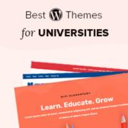 22 Best WordPress Themes for Universities