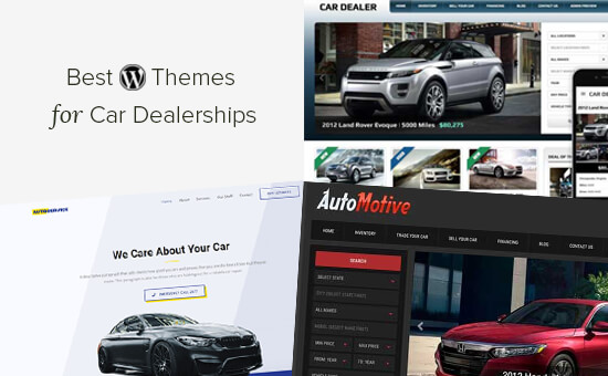 Best WordPress themes for car dealerships