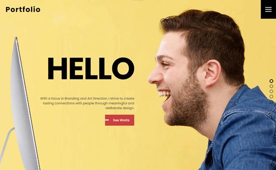 Ultra - Portfolio template