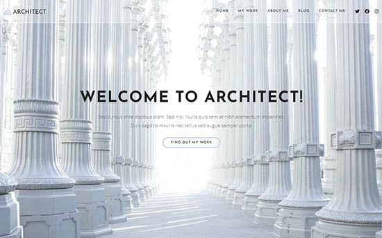 OceanWP Free WordPress Theme for Architecture Firms