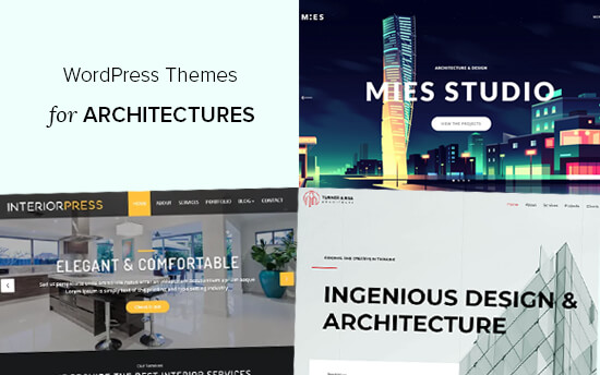 Best WordPress themes for architecture firms